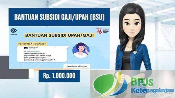 Hoaks Cairkan Dana BSU BLT BPJS Ketenagakerjaan Perlu Surat Rekomendasi HRD dan Bank BRI Tertentu