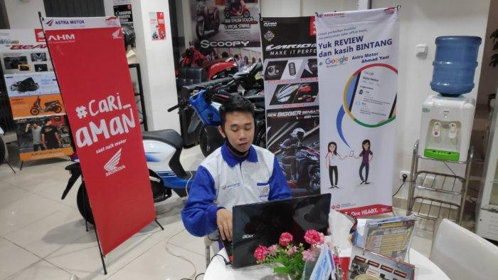 SEDIAKAN Give Away Hingga Tes Online, Cara Unik Honda Kalbar Edukasi Safety Riding ke Komunitas HWBC