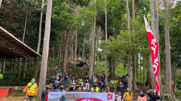 Honda Kalbar Gelar ADV x PCX On Vacation Seri 3 ke Rindu Alam Singkawang, Angkat Wisata Lokal