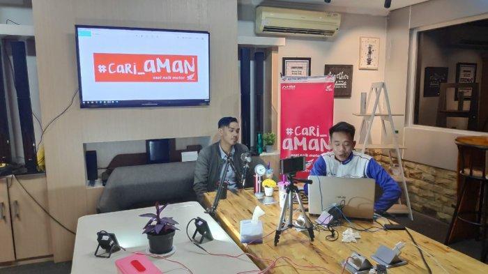 Serunya Ngobrol Online Barsama Komunitas Honda Kalbar