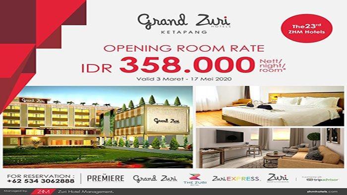 Grand Zuri Hadir dengan Fasilitas Hotel Terbaik di Kota Ketapang
