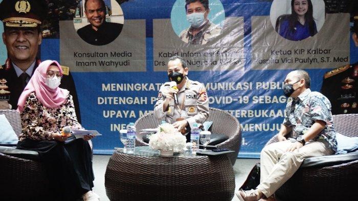 Divisi Humas Polri Gelar Diskusi Publik di Kalbar, Usung Tema 'Komunikasi Publik Ditengah Pandemi'