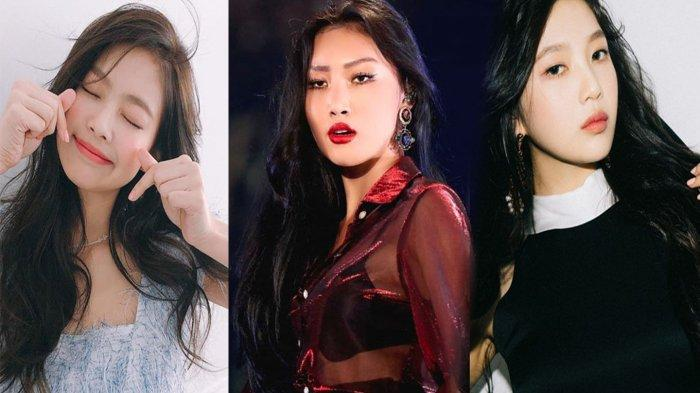 Hwasa MAMAMOO,Jennie BLACKPINK dan Joy Red Velvet Top 3 Teratas Member Girl Grup K-Pop April 2020