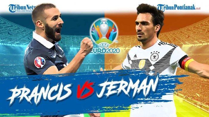 Susunan Pemain Jerman Kontra Prancis Euro 2021 Malam Ini Perang Bintang Grup F Piala Eropa