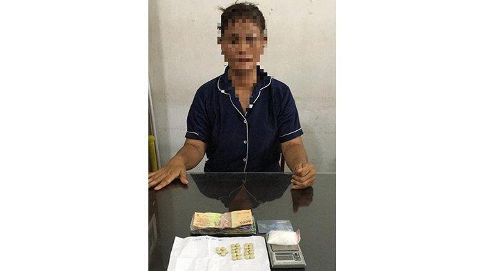 Diduga Edarkan Narkoba, Seorang Wanita di Pontianak Kalbar Ditangkap Polisi