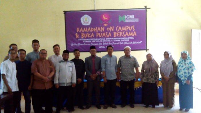ICMI Orda Kabupaten Sintang Gelar Ramadhan On Campus, Semarakan Syiar Ramadhan