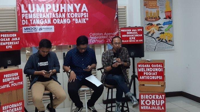 ICW Sebut 2019 Jadi Tahun Kehancuran KPK, Disponsori Langsung Presiden Jokowi dan DPR