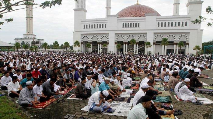 Siap Gelar Salat Id, Masjid Raya Mujahidin Pontianak Tunggu Putusan Menag