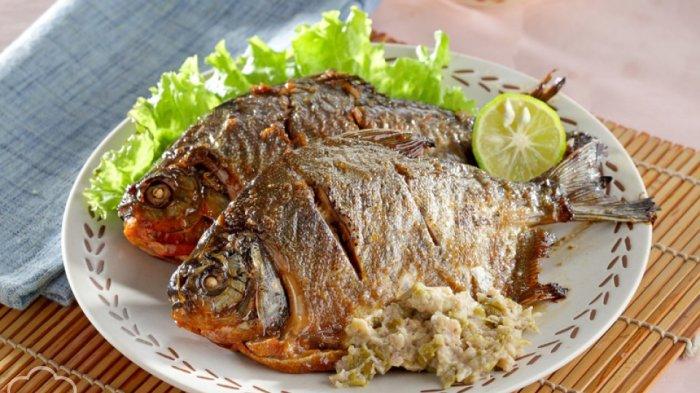Ikan Bawal Panggang Sambal Belimbing Resep Sehari Hari Kesukaan Keluarga Tribun Pontianak
