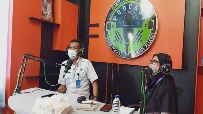IKIP PGRI Pontianak Gunakan Podcast Untuk Sampaikan Materi PKKMB