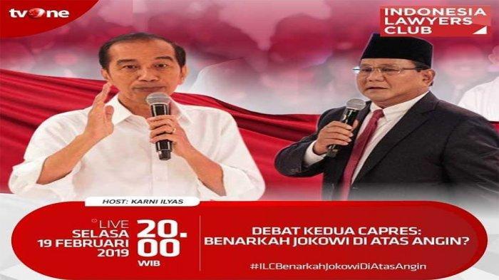 ILC TVOne 'Debat Kedua Capres: Benarkah Jokowi Di Atas Angin?', Rocky Gerung Ungkap Pemenang Debat