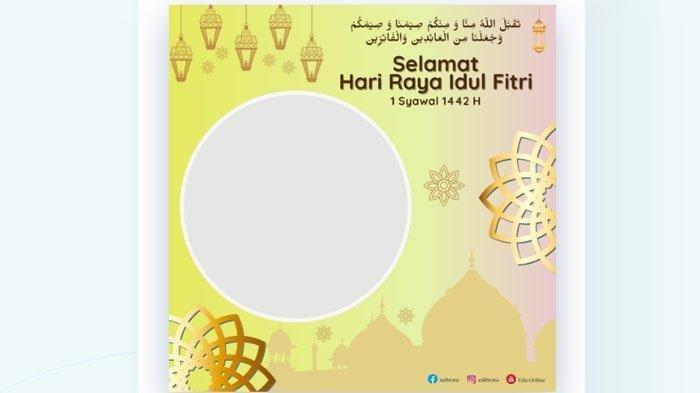Edit Kartu Ucapan Lebaran Online Disini ! Cara Membuat Frame Twibbonize Idul Fitri 2021