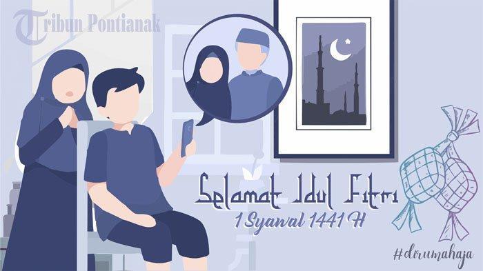 Selamat Hari Raya Lebaran 1441 H 24 Mei, Kumpulan Kata Mutiara Selamat Lebaran Bahasa Jawa & Inggris