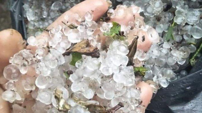 BMKG Ungkap Potensi Hujan Es di Wilayah Kalbar dan Peringatan Dini Cuaca Ekstrem Rabu 3 Maret 2021