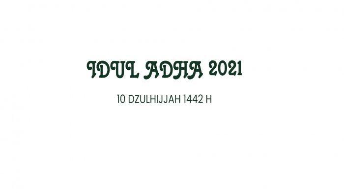 LINK TWIBBON Hari RayaIdulAdhaTerbaru 2021, Ini Alur Shalat Ied Adha Saat Pandemi 2020
