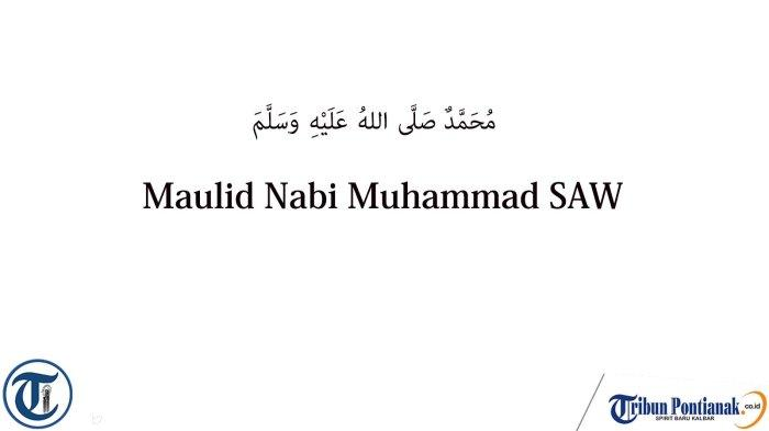 20 Ucapan Maulid Nabi Muhammad SAW 2021