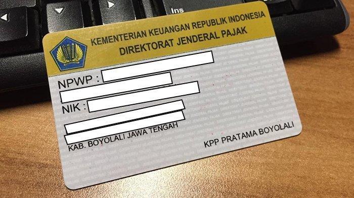 Syarat Mendaftarkan NPWP untuk Wajib Pajak Orang Pribadi Non Usahawan di ereg.pajak.go.id/login