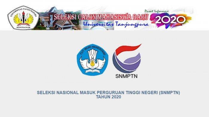 Sebanyak 1.652 Peserta Lulus SNMPTN 2020 di Kalbar, Begini Cara Mengecek Kelulusan