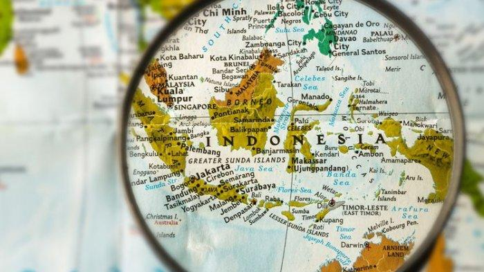Ilustrasi peta Indonesia
