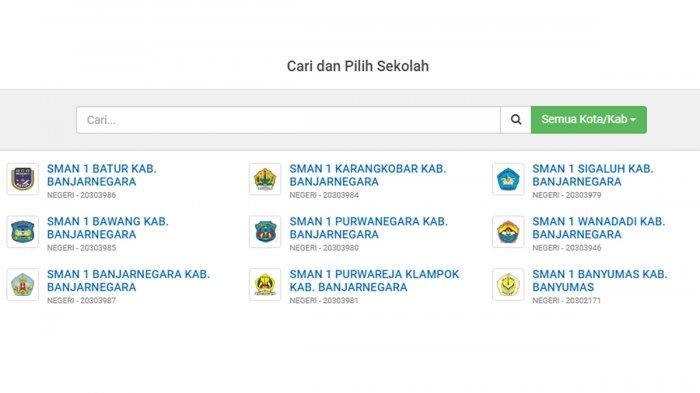 Cara Melihat Pengumuman Hasil PPDB SMA - SMK Jawa Tengah Jalur Zonasi, Pindahan, Afirmasi, Prestasi