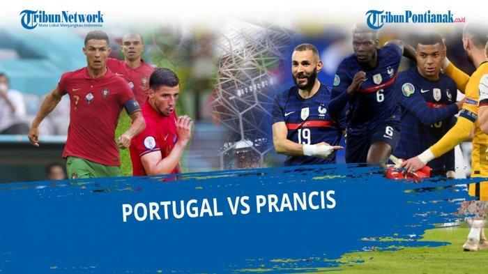 Line Up Portugal Kontra Perancis Malam Ini Lengkap Streaming EURO 2021 Perancis vs Portugal Live
