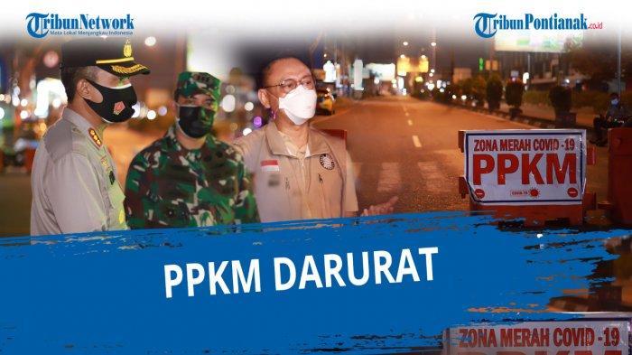 Harisson Jelaskan Penentuan Perpanjangan PPKM Darurat di Kalbar