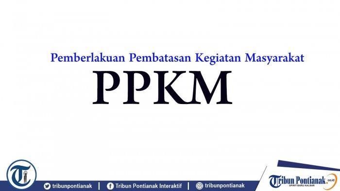 PPKM Diperpanjang Hingga 20 September 2021, Empat Daerah di Kalbar Masuk PPKM Level 2