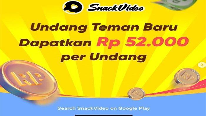Cara Menarik Uang di Snack Video dan Cara Mendapatkan Uang di Snack Video