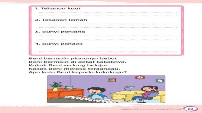 Kunci Jawaban Tema 5 Kelas 2 Halaman 23 25 27 28 29 30 Subtema 1 Pembelajaran 3 Buku Tematik 5 Tribun Pontianak