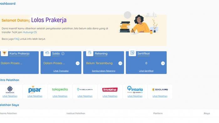 PRAKERJA GO ID Login www.prakerja.go.id Daftar Prakerja Gelombang 12 dan Cara Daftar Kartu Prakerja