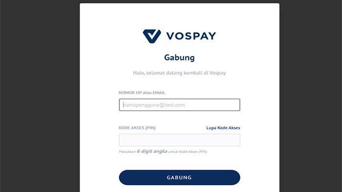 Cara Daftar Vospay dan Apa Itu Vospay ? Bagaimana Cara Menggunakan Vospay ? Cara Pembayaran Vospay ?
