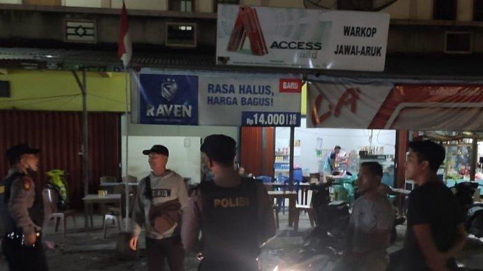 Personel Polsek Jawai Gelar Patroli Yustisi dan Patroli Dialogis Tentang Pendisiplinan Prokes