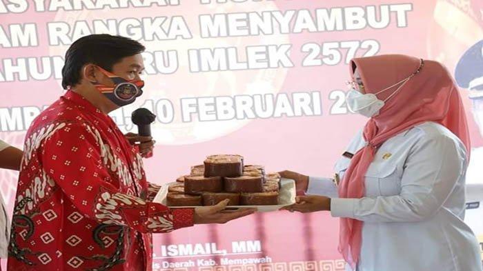Silaturahmi Bersama Tokoh Masyarakat Tionghoa, Erlina Harap Perayaan Imlek dan CGM Digelar Sederhana