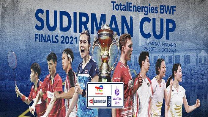 Jadwal Jam Tayang Sudirman Cup 2021 Selasa 28 September, Indonesia vs Denmark Kapan ?