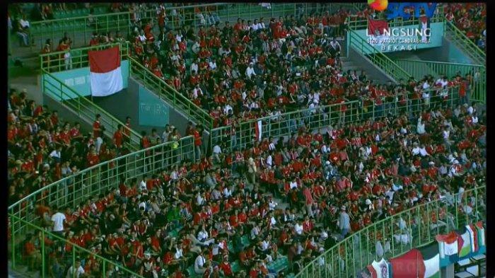 Indonesia Vs Palestina: LIVE STREAMING SCTV dan Live Vidio Sepakbola Asian Games 2018