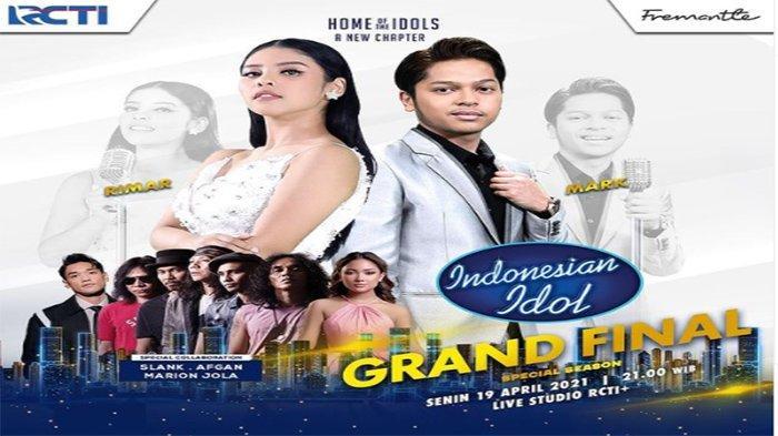 SEDANG LIVE, STREAMING RCTI Grand Final Indonesian Idol 2021 - Cek Cara Vote Indonesian Idol 2021