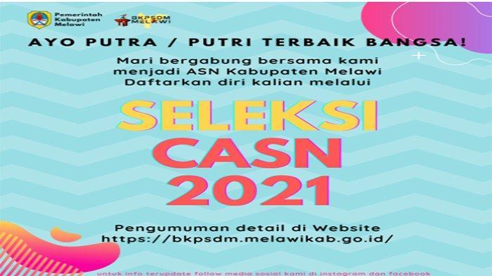 INFO Lengkap CPNS Melawi 2021 Kalbar, Dari Rincian Formasi Syarat Hingga Cara Daftar