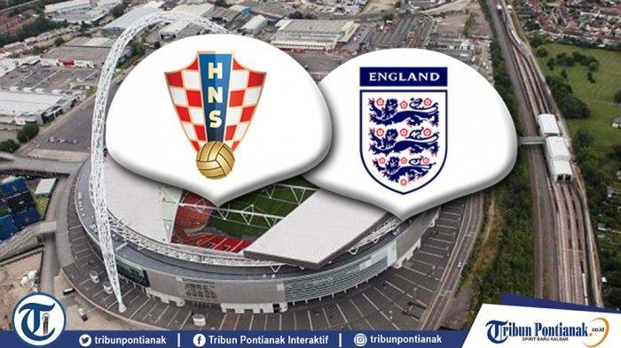 LIVE STREAMING Inggris Vs Kroasia di UEFA Nations League Berlangsung Pukul 21.00 WIB