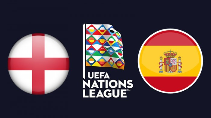 LIVE STREAMING Inggris Vs Spanyol UEFA Nations League, Link Live Streaming Supersoccer.tv