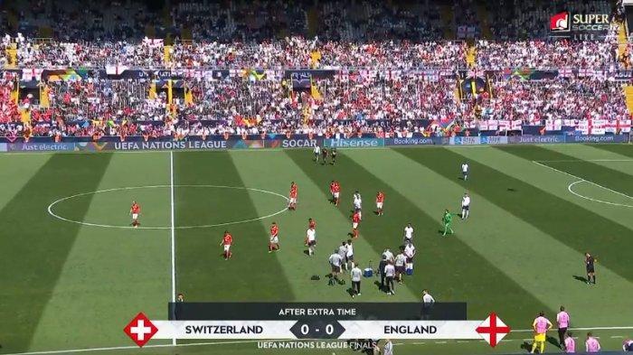 Hasil Akhir Inggris Vs Swiss UEFA Nations League, Inggris Rebut Posisi Tiga Kalahkan Swiss
