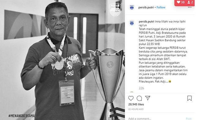Innalillah, Pelatih Kiper Persib Bandung Putri Mangkat | Mirip Penyakit Lina Mantan Istri Sule?