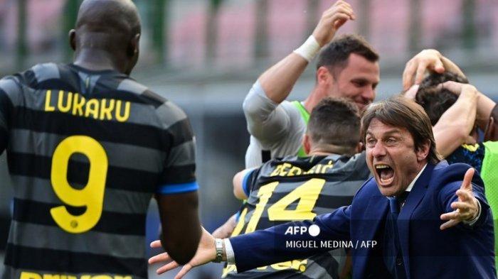 HASIL Serie A - Inter Milan Kirim Crotone Degradasi Serie B! Juventus, Napoli dan Milan Gagal Juara