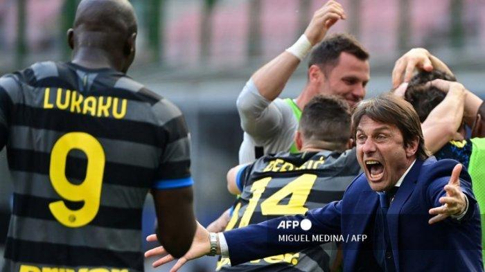 LIVE SCORE Crotone vs Inter Milan - Nerazzuri Bisa Juara Serie A, Link Hasil & Klasemen Liga Italia