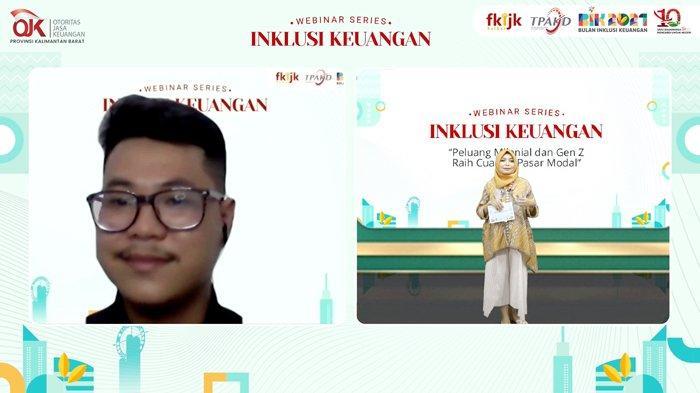 Investor Muda Kalbar, Andrefilo Berikan Trik Investasi Pasar Modal
