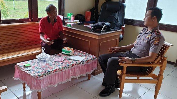 Kapolsek Koordinasi dengan Ketua DAD Meranti Jelang Pelantikan Presiden, Ini Yang Disampaikan