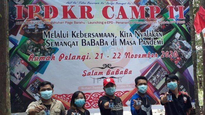 Peringati HUT ke-6 Ikatan Pemuda Dayak Kubu Raya Gelar IPDKR CAMP