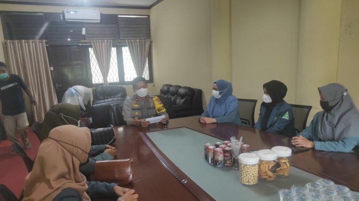 Terima Kunjungan IPPNU Kubu Raya, Berikut Pesan yang Disampaikan Wakapolres Amin Siddiq