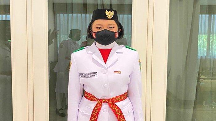 Cerita Irene Odelia Astono, Siswi SMA Santo Ignatius Singkawang Kibarkan Bendera di Istana Negara