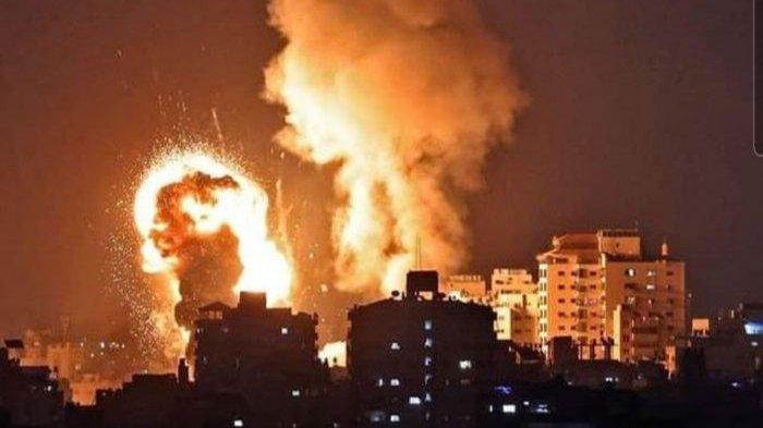 UPDATE Serangan Israel ke Gaza Menewaskan 17 Anak-anak, Total Meninggal 67 Orang