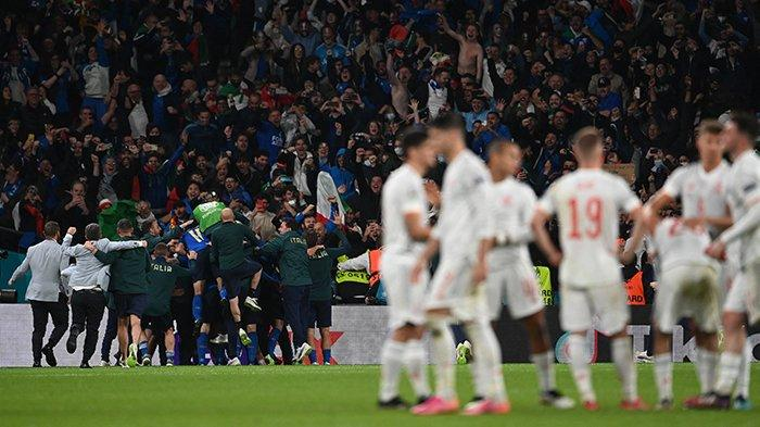 Skor Italia vs Spain Tadi Malam Lengkap Data Adu Penalti & Statistik Italia Vs Spanyol, Siapa Gagal?